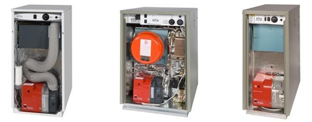 oil boilers inner